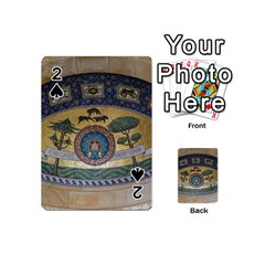 Peace Monument Werder Mountain Playing Cards 54 (Mini)