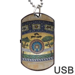 Peace Monument Werder Mountain Dog Tag Usb Flash (one Side)