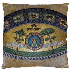 Peace Monument Werder Mountain Large Cushion Case (one Side)