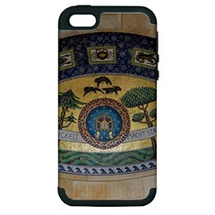 Peace Monument Werder Mountain Apple Iphone 5 Hardshell Case (pc+silicone)