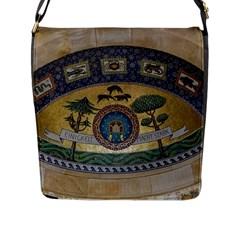 Peace Monument Werder Mountain Flap Messenger Bag (l)