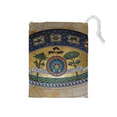 Peace Monument Werder Mountain Drawstring Pouches (medium)