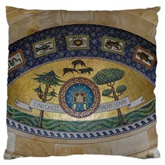 Peace Monument Werder Mountain Large Flano Cushion Case (two Sides)