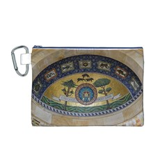 Peace Monument Werder Mountain Canvas Cosmetic Bag (m)
