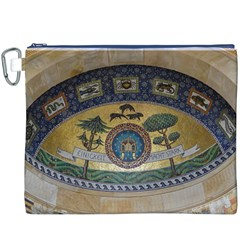 Peace Monument Werder Mountain Canvas Cosmetic Bag (xxxl)