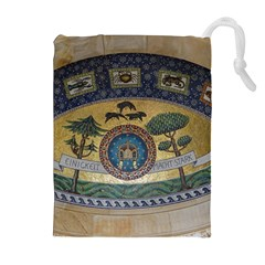 Peace Monument Werder Mountain Drawstring Pouches (extra Large)