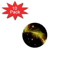 Particles Vibration Line Wave 1  Mini Magnet (10 Pack)