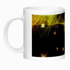 Particles Vibration Line Wave Night Luminous Mugs
