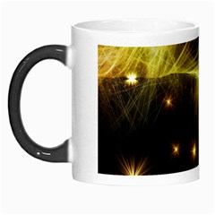 Particles Vibration Line Wave Morph Mugs