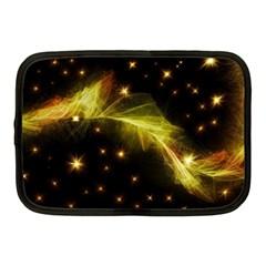 Particles Vibration Line Wave Netbook Case (Medium)