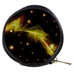 Particles Vibration Line Wave Mini Makeup Bags