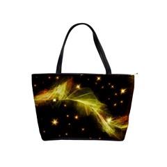 Particles Vibration Line Wave Shoulder Handbags