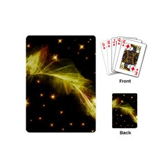 Particles Vibration Line Wave Playing Cards (mini)