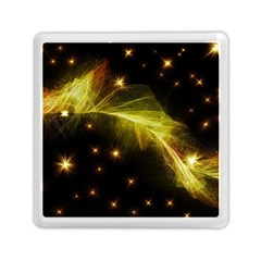Particles Vibration Line Wave Memory Card Reader (square)