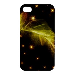 Particles Vibration Line Wave Apple Iphone 4/4s Hardshell Case