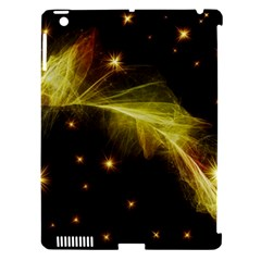 Particles Vibration Line Wave Apple Ipad 3/4 Hardshell Case (compatible With Smart Cover)