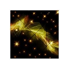 Particles Vibration Line Wave Acrylic Tangram Puzzle (4  X 4 )
