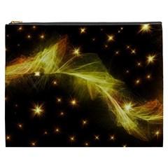 Particles Vibration Line Wave Cosmetic Bag (xxxl)
