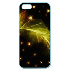 Particles Vibration Line Wave Apple Seamless Iphone 5 Case (color)
