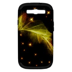 Particles Vibration Line Wave Samsung Galaxy S Iii Hardshell Case (pc+silicone)