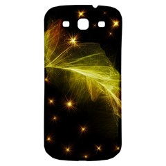 Particles Vibration Line Wave Samsung Galaxy S3 S III Classic Hardshell Back Case