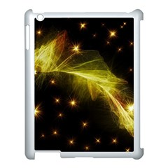 Particles Vibration Line Wave Apple Ipad 3/4 Case (white)