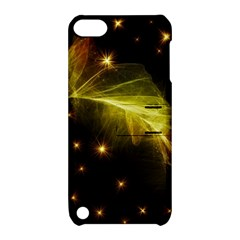 Particles Vibration Line Wave Apple Ipod Touch 5 Hardshell Case With Stand