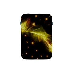Particles Vibration Line Wave Apple Ipad Mini Protective Soft Cases