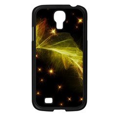 Particles Vibration Line Wave Samsung Galaxy S4 I9500/ I9505 Case (black)