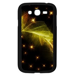 Particles Vibration Line Wave Samsung Galaxy Grand Duos I9082 Case (black)