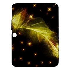 Particles Vibration Line Wave Samsung Galaxy Tab 3 (10 1 ) P5200 Hardshell Case