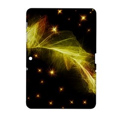 Particles Vibration Line Wave Samsung Galaxy Tab 2 (10 1 ) P5100 Hardshell Case
