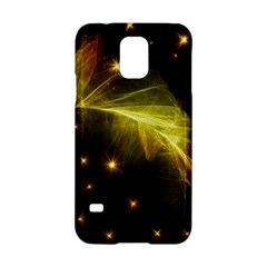 Particles Vibration Line Wave Samsung Galaxy S5 Hardshell Case