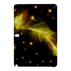 Particles Vibration Line Wave Samsung Galaxy Tab Pro 10 1 Hardshell Case