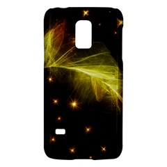 Particles Vibration Line Wave Galaxy S5 Mini