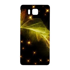 Particles Vibration Line Wave Samsung Galaxy Alpha Hardshell Back Case