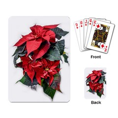 Star Of Bethlehem Star Red Playing Card