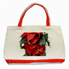 Star Of Bethlehem Star Red Classic Tote Bag (red)
