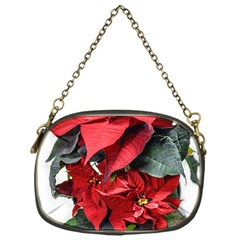 Star Of Bethlehem Star Red Chain Purses (one Side)