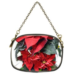 Star Of Bethlehem Star Red Chain Purses (two Sides)