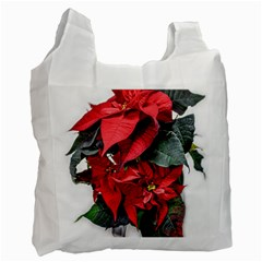 Star Of Bethlehem Star Red Recycle Bag (one Side)