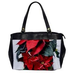 Star Of Bethlehem Star Red Office Handbags