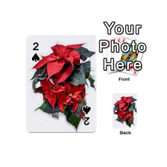 Star Of Bethlehem Star Red Playing Cards 54 (mini)