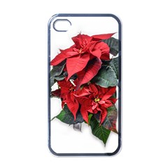 Star Of Bethlehem Star Red Apple Iphone 4 Case (black)