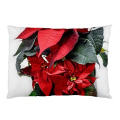 Star Of Bethlehem Star Red Pillow Case (two Sides)