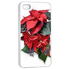Star Of Bethlehem Star Red Apple Iphone 4/4s Seamless Case (white)