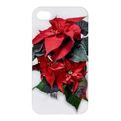 Star Of Bethlehem Star Red Apple Iphone 4/4s Hardshell Case