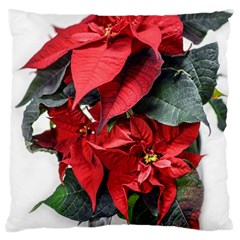 Star Of Bethlehem Star Red Large Cushion Case (two Sides)