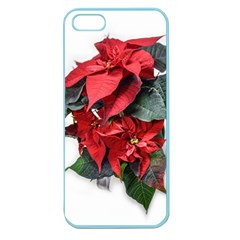 Star Of Bethlehem Star Red Apple Seamless Iphone 5 Case (color)