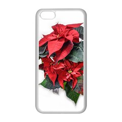 Star Of Bethlehem Star Red Apple Iphone 5c Seamless Case (white)